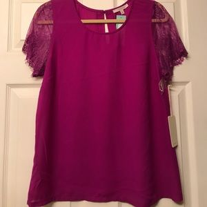 41Hawthorn short sleeve blouse
